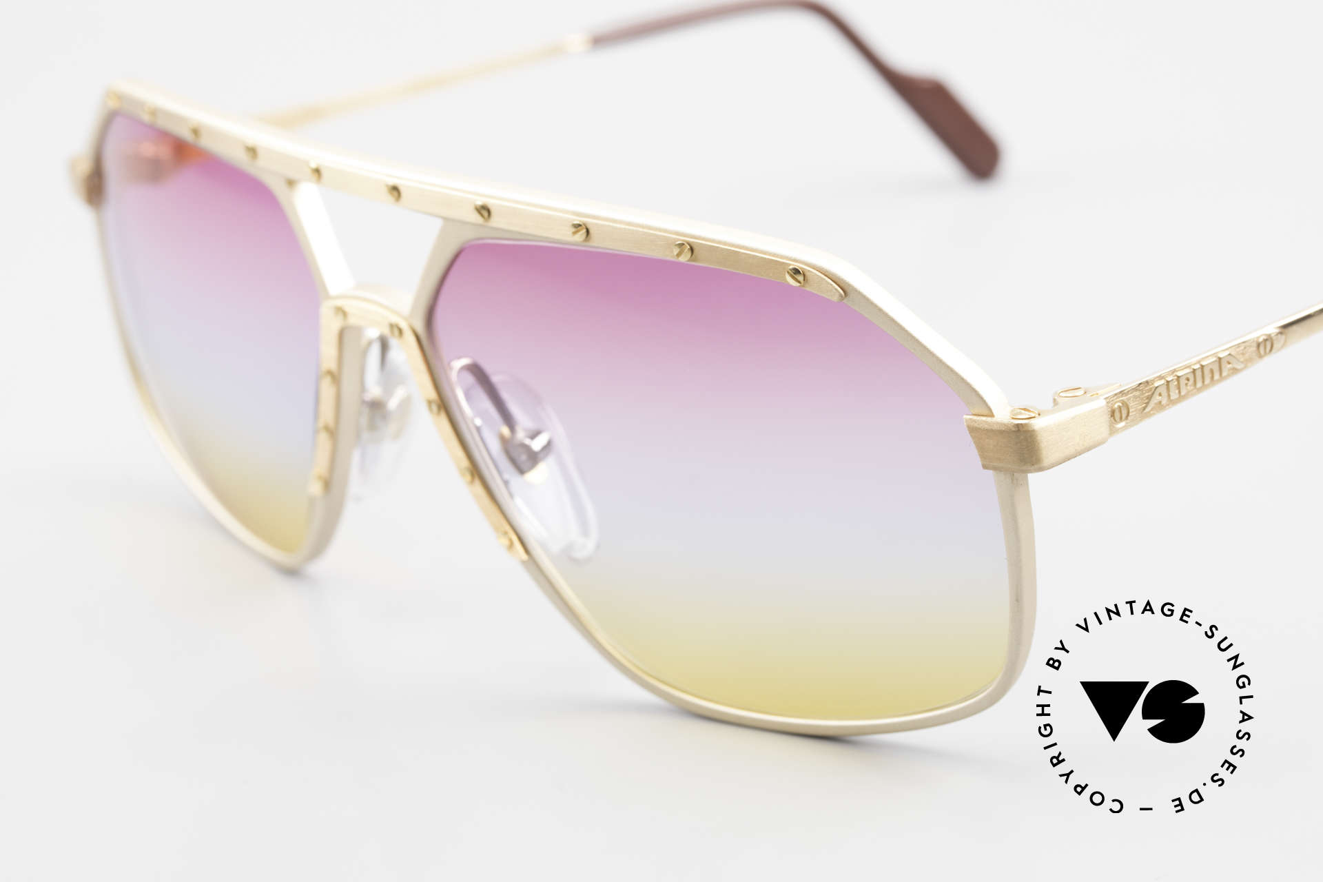 Alpina M6 Iconic 80's Shades Tricolored, the Alpina M6's were made between 1987 and 1991, Made for Men and Women