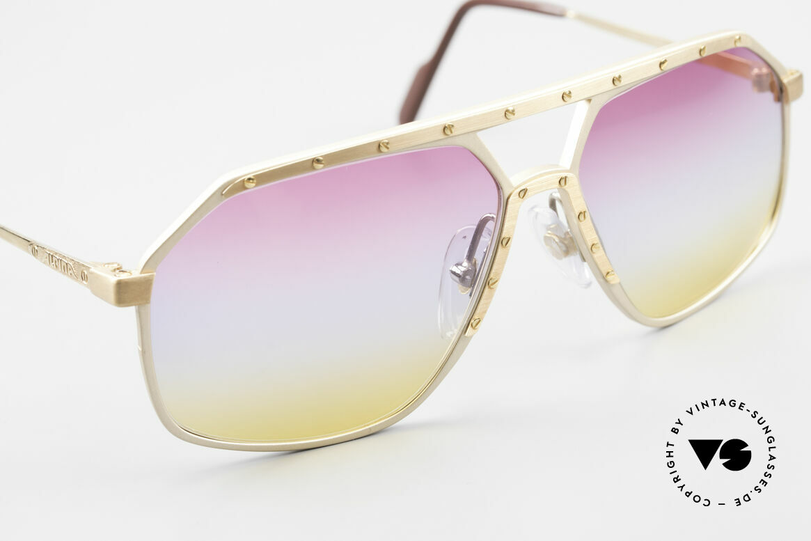 Alpina M6 Iconic 80's Shades Tricolored, one of the most wanted vintage models, worldwide, Made for Men and Women