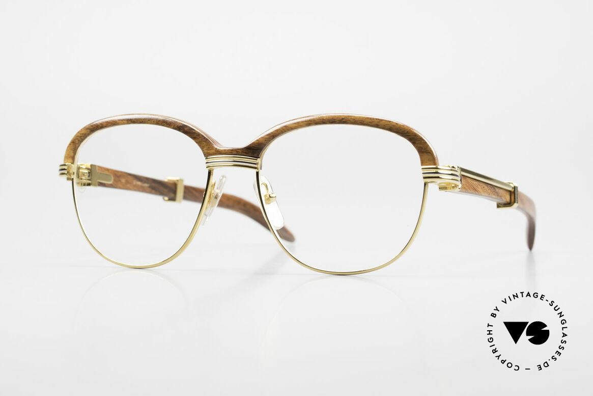 Cartier Malmaison Diego Maradona Wood Glasses, Cartier wood glasses, celebrity glasses, luxury frame, Made for Men and Women