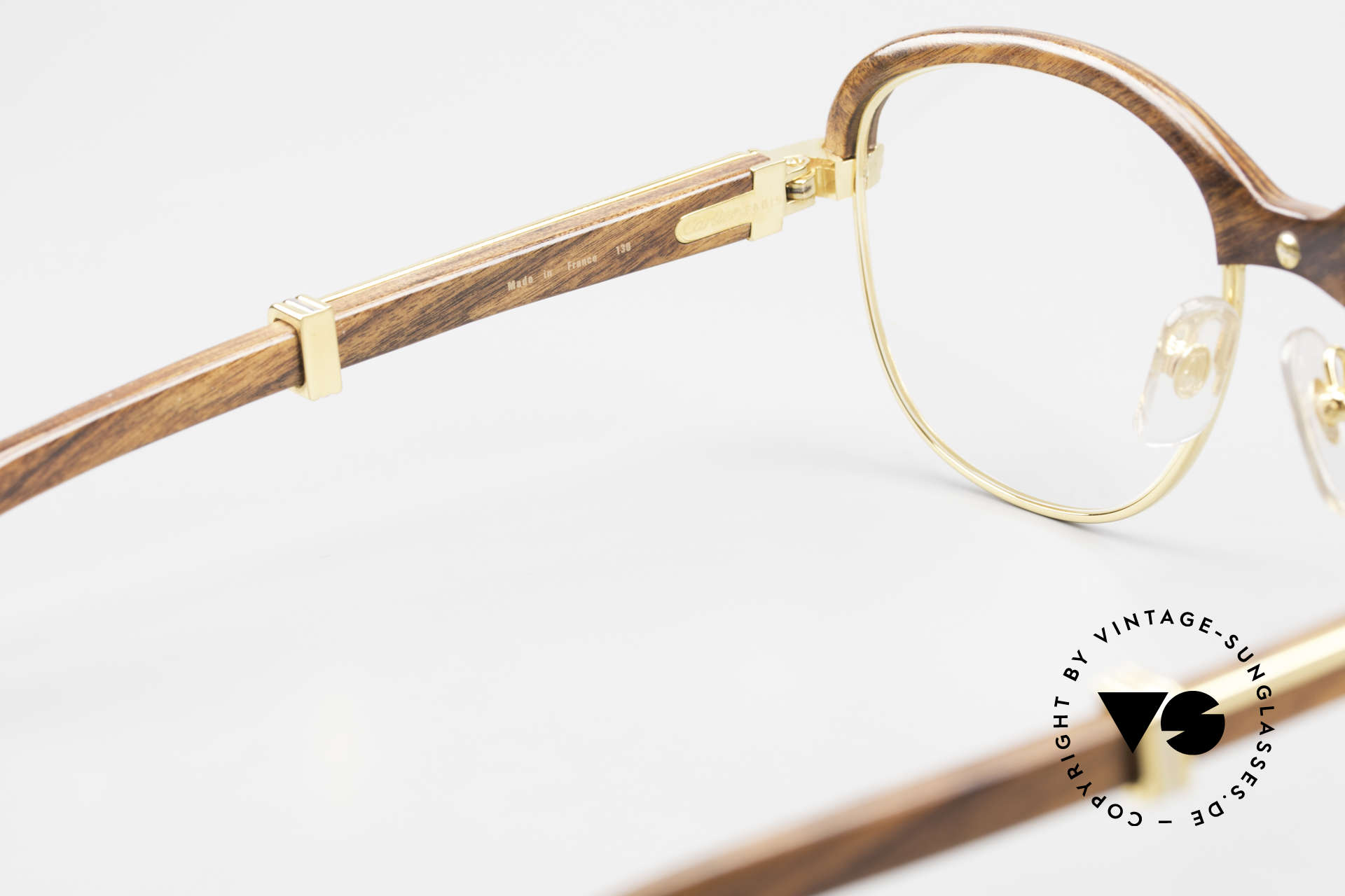 Cartier Malmaison Diego Maradona Wood Glasses, we DON'T accept a credit card payment for this model, Made for Men and Women