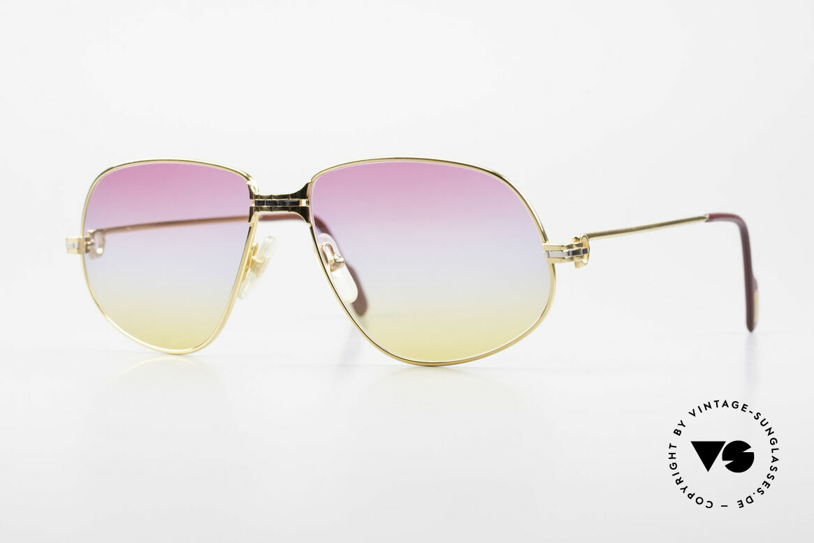 Cartier Panthere G.M. - L Sunrise Lenses & Bvlgari Case, Cartier Panthère = the world famous panther by CARTIER, Made for Men and Women
