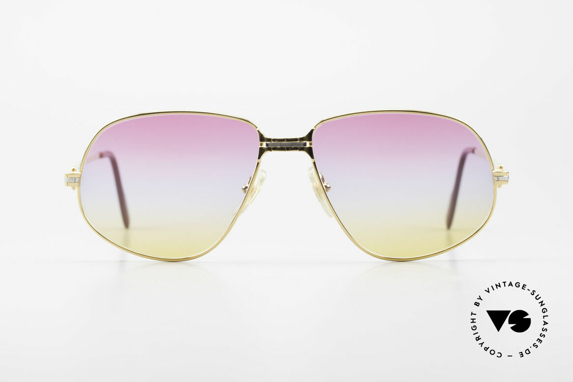 Cartier Panthere G.M. - L Sunrise Lenses & Bvlgari Case, G.M. stands for 'grande modèle' for monsieur / gentleman, Made for Men and Women