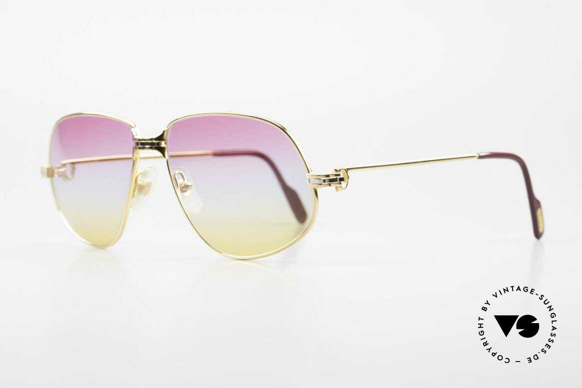 """Cartier Panthere G.M. - L Sunrise Lenses & Bvlgari Case, mod. """"Panthère"""" was launched in 1988 and made till 1997, Made for Men and Women"""