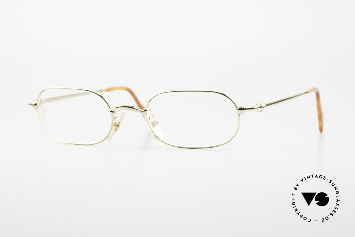 Cartier Orfy 90's Luxury Eyeglasses Square, square vintage CARTIER eyeglasses from the late 90's, Made for Men and Women