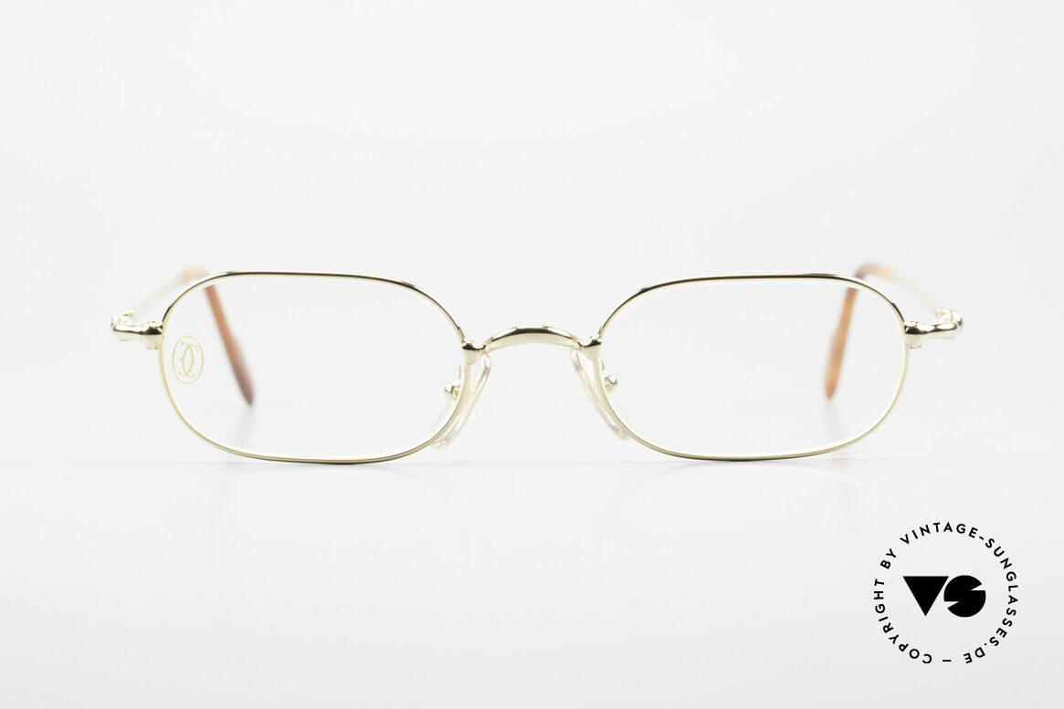 Cartier Orfy 90's Luxury Eyeglasses Square, ORFY = a model of the Cartier 'Thin Rim' Collection, Made for Men and Women