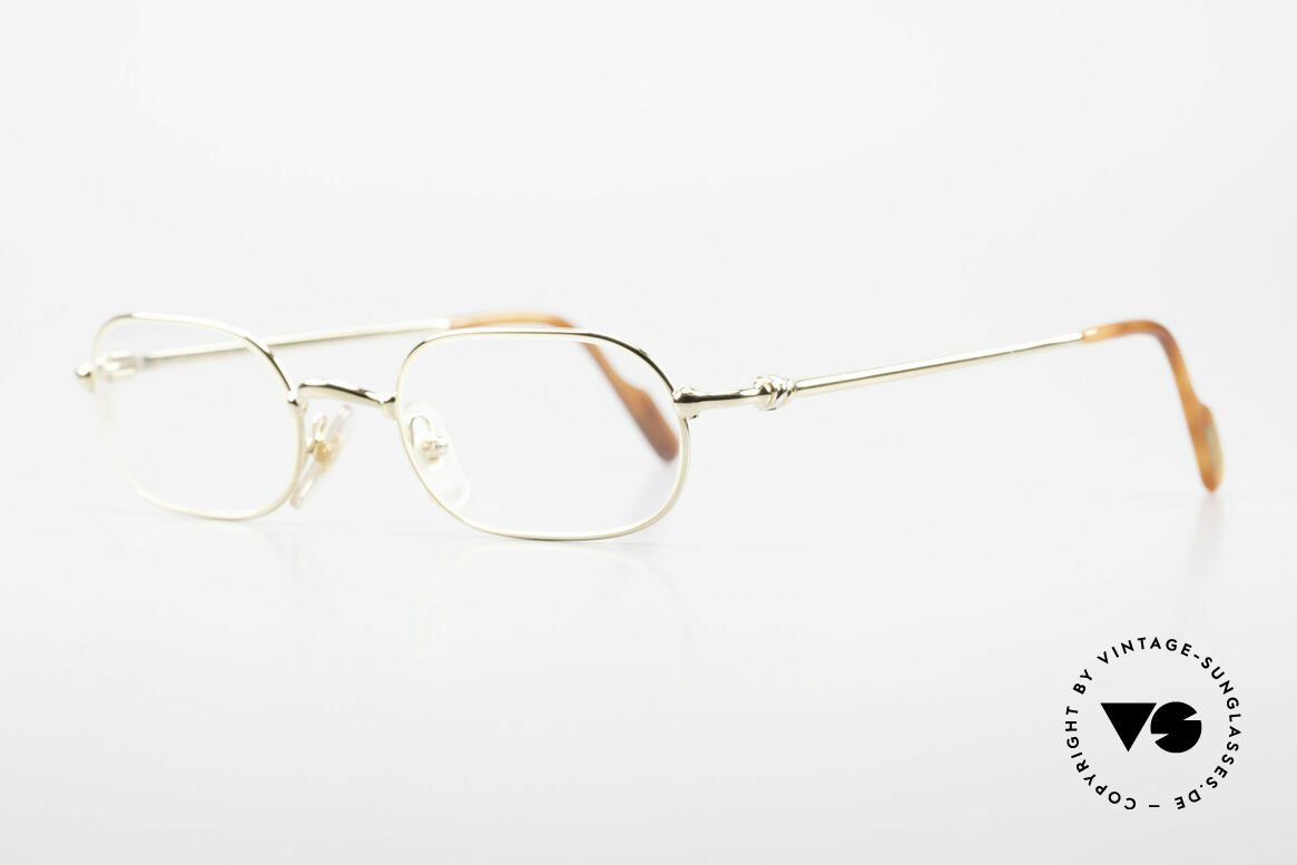 Cartier Orfy 90's Luxury Eyeglasses Square, flexible lightweight frame (1st class wearing comfort), Made for Men and Women