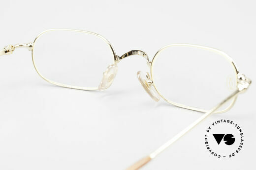 Cartier Orfy 90's Luxury Eyeglasses Square, NO retro eyewear, but a 20 years old Cartier Original, Made for Men and Women