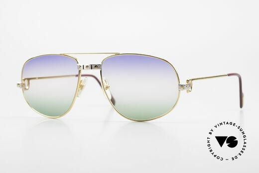 Cartier Romance Santos - L 80s Luxury Vintage Sunglasses Details