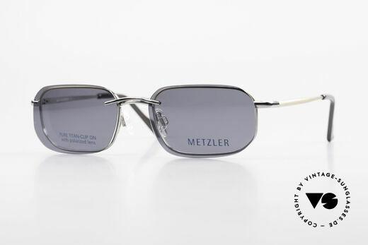 Metzler 1716 Titanium Frame Polarized Clip Details