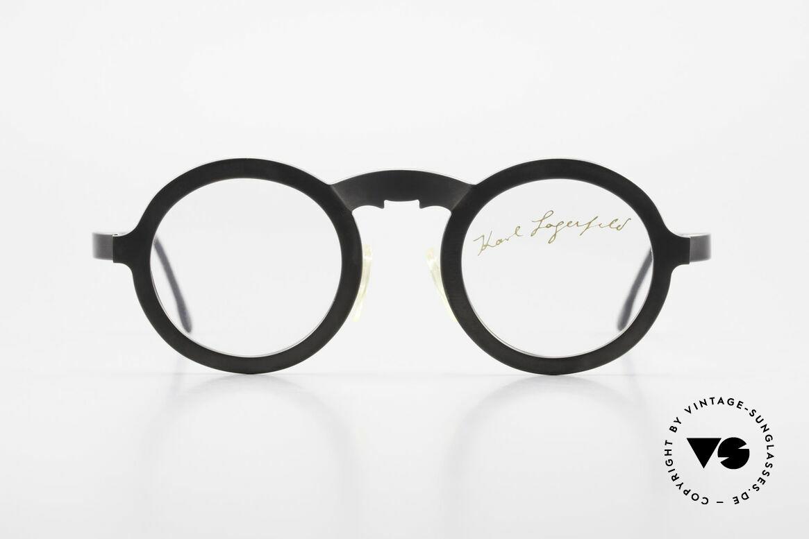 Karl Lagerfeld 4501 Round Panto Designer Frame, round designer eyeglass-frame by Karl Lagerfeld, Made for Men and Women
