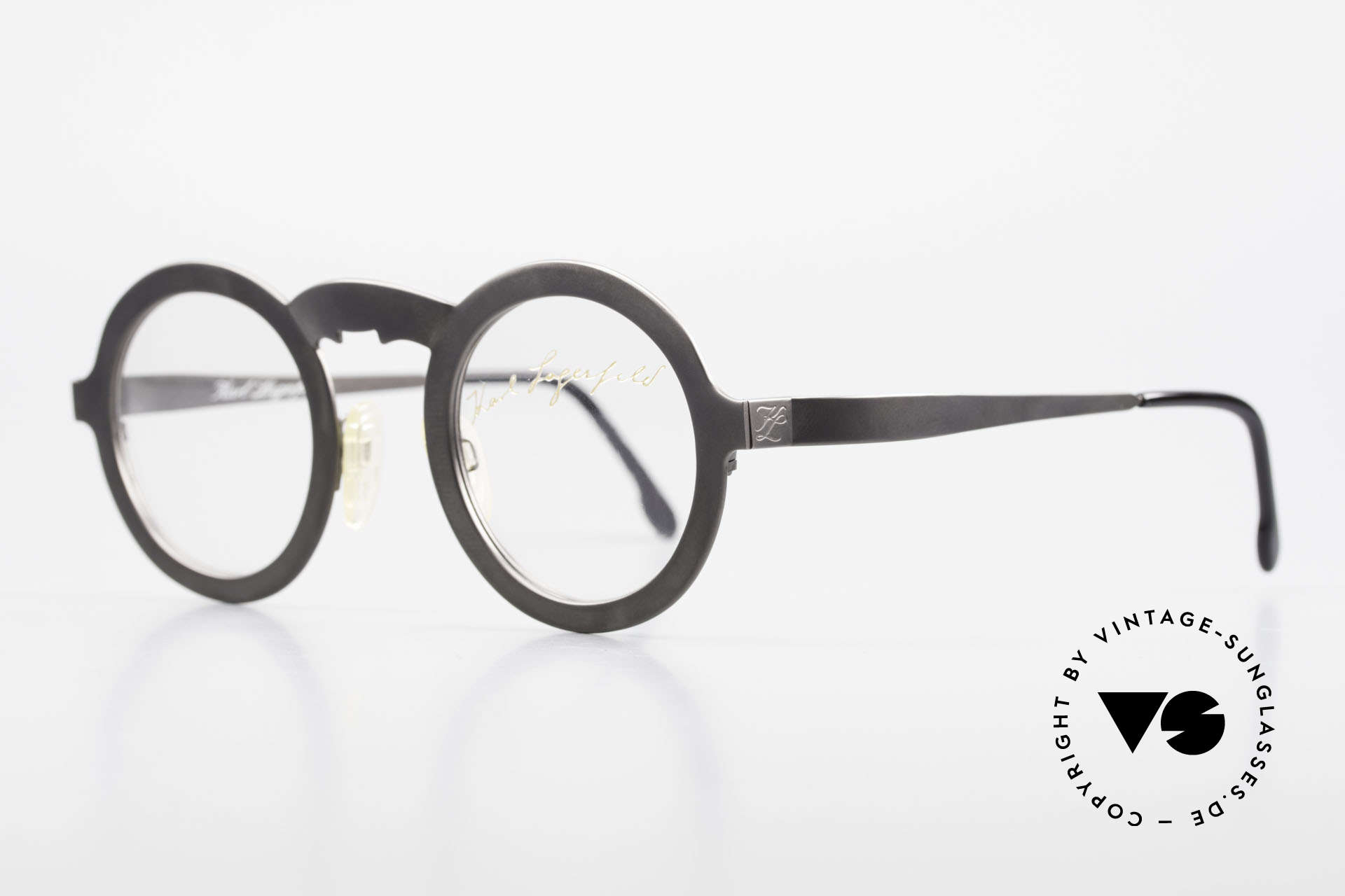 Karl Lagerfeld 4501 Round Panto Designer Frame, leightweight (22 gram only) and 1st class quality, Made for Men and Women