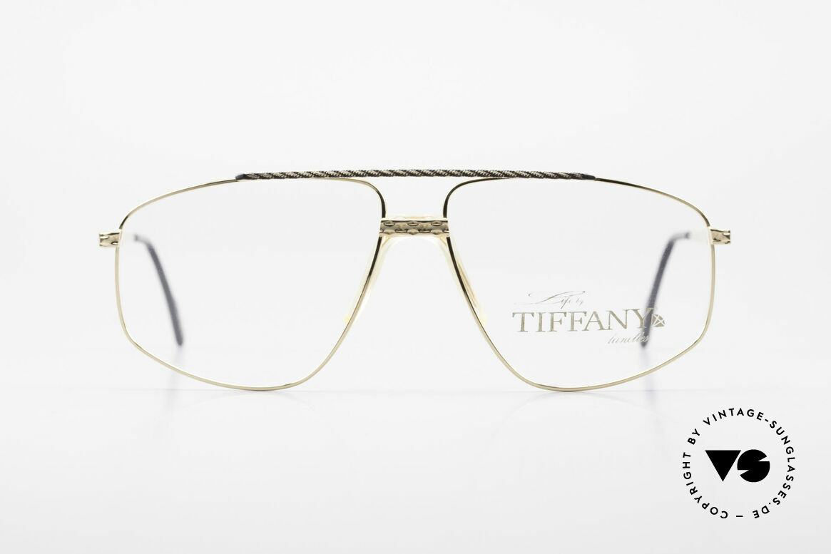 Tiffany T89 23kt Gold Plated Aviator Frame, Tiffany = a synonym for extraordinary jewelry; vertu!, Made for Men
