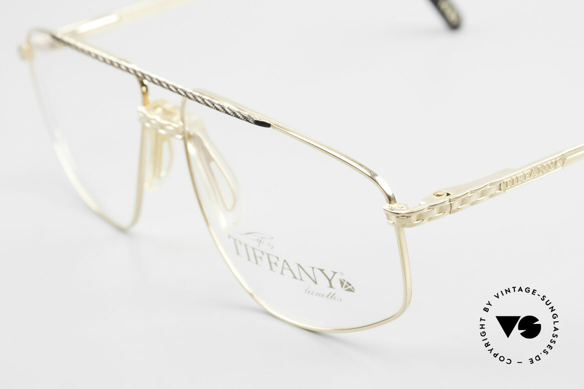 Tiffany T89 23kt Gold Plated Aviator Frame, a fantastic combination of elegance, style and quality, Made for Men
