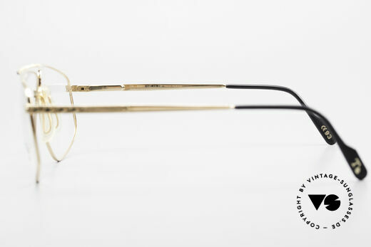 Tiffany T89 23kt Gold Plated Aviator Frame, NO RETRO EYEWEAR, but an app. 25 years old Original, Made for Men