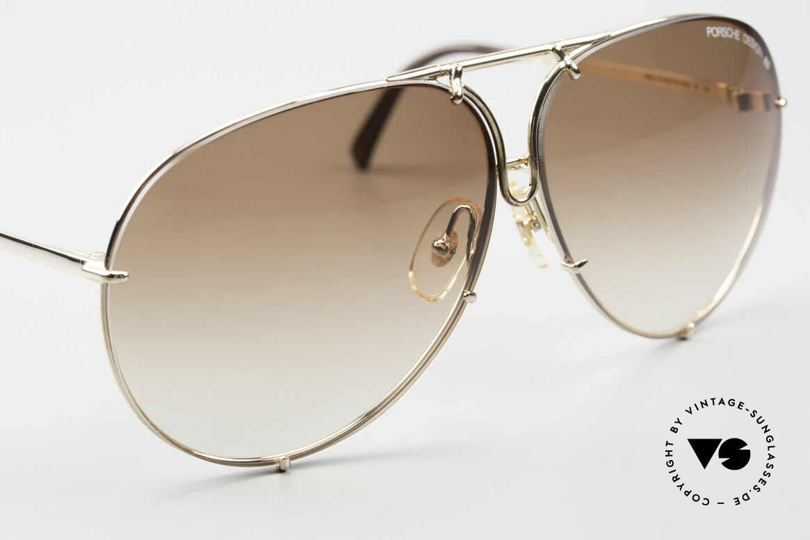 Porsche 5623 Black Mass Movie Sunglasses, unworn rarity + gray extra lenses & original packing, Made for Men and Women