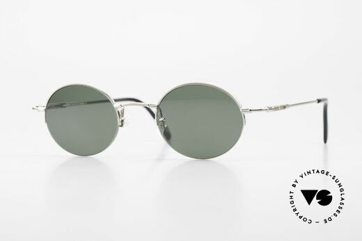 Longines 4363 Round Oval Sunglasses 90's Details