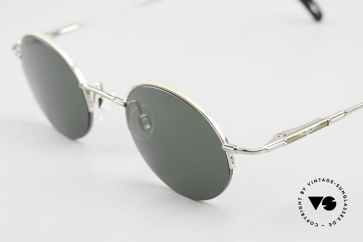 Longines 4363 Round Oval Sunglasses 90's, a timeless old ORIGINAL in cooperation with Metzler, Made for Men and Women