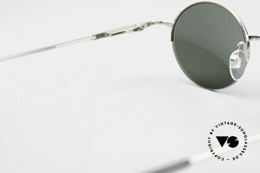 Longines 4363 Round Oval Sunglasses 90's, sun lenses (100% UV) could be replaced with opticals, Made for Men and Women