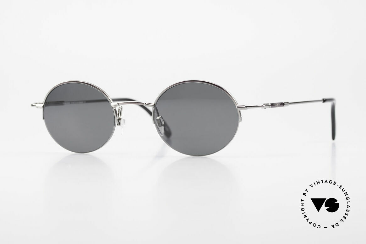 Longines 4363 90's Sunglasses Round Oval, round oval Longines sunglasses from the late 1990's, Made for Men and Women