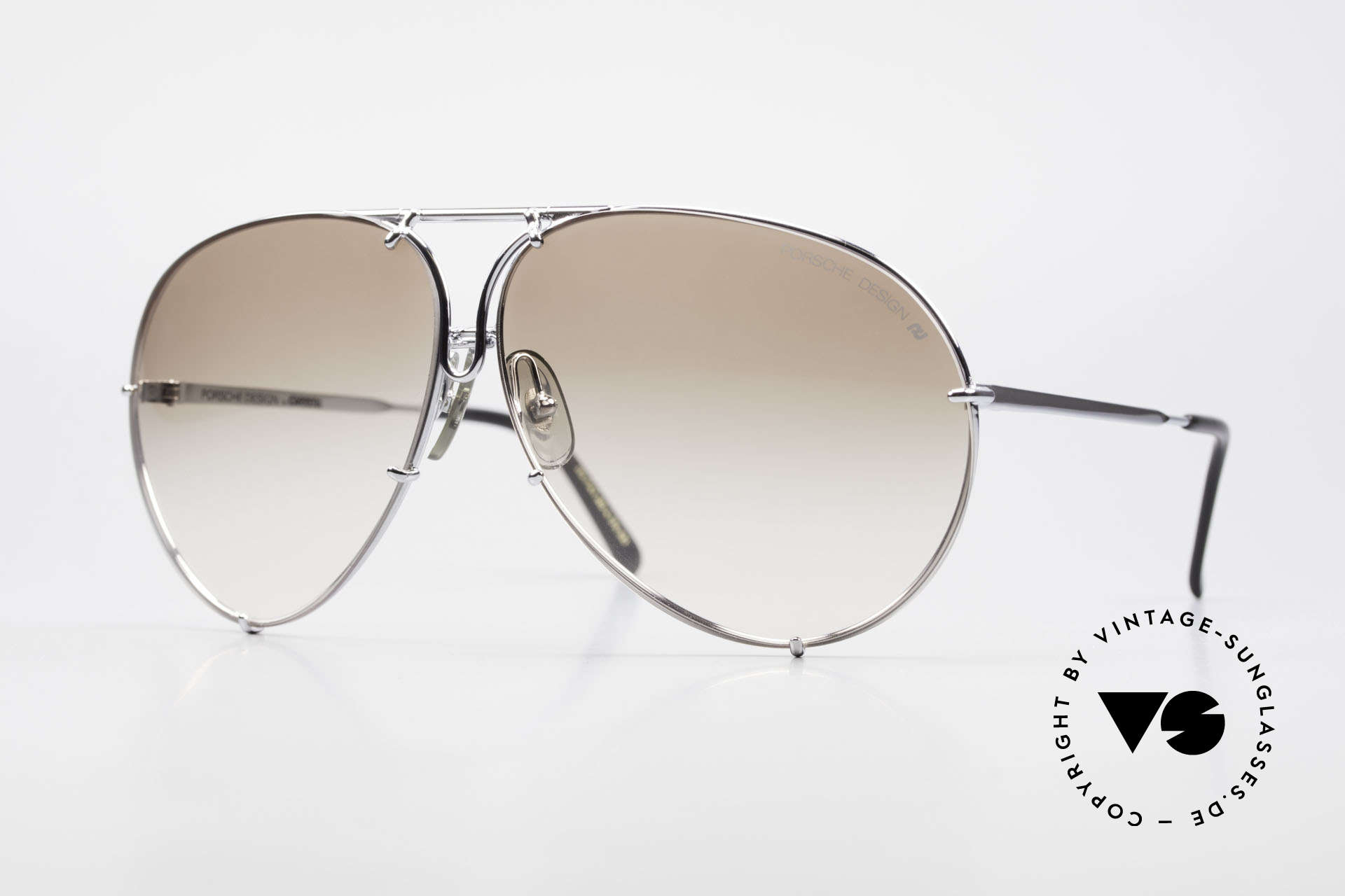 Porsche 5621 80's Sunglass Classic For Men, old 80's Porsche sunglasses with changeable lenses, Made for Men