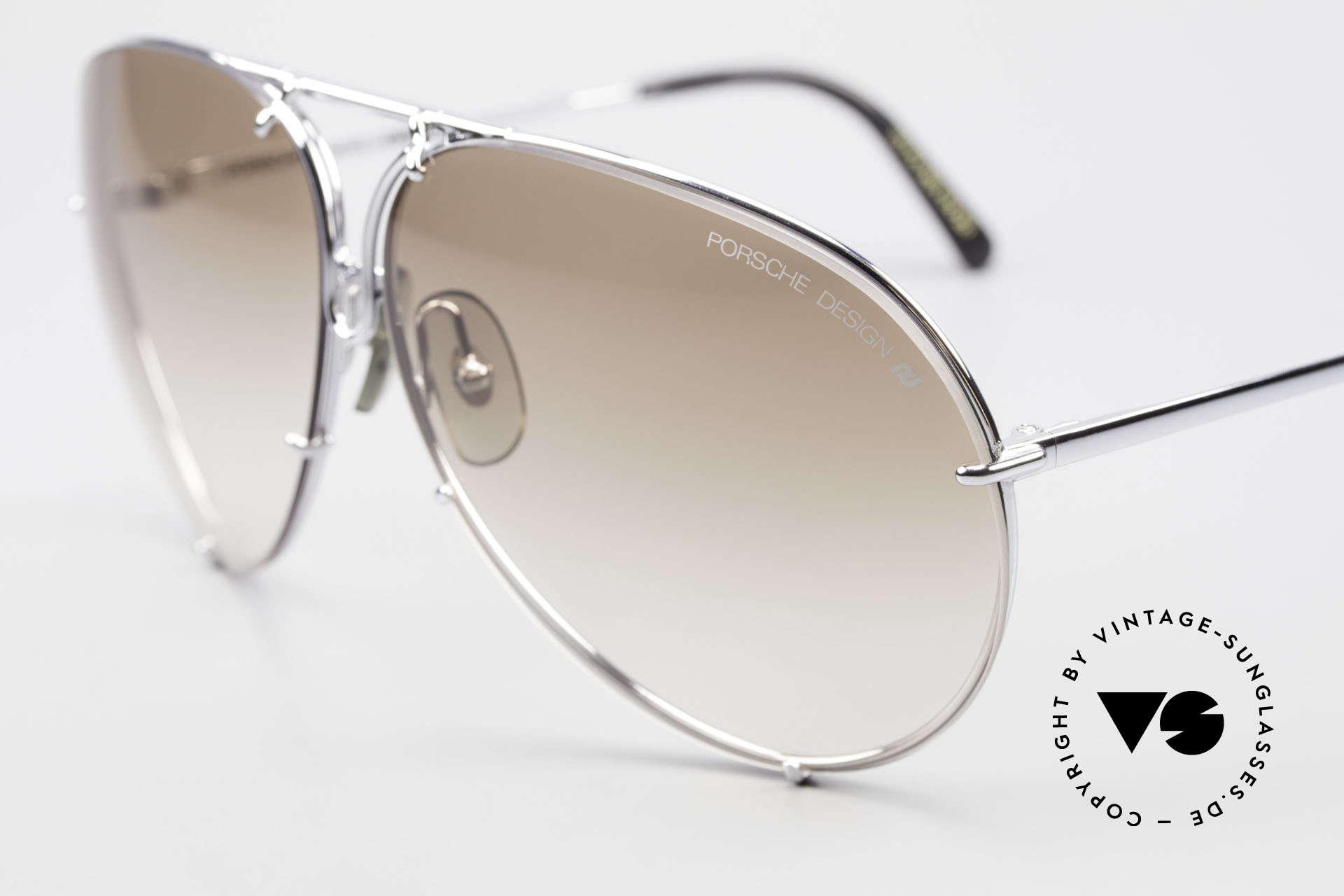 Porsche 5621 80's Sunglass Classic For Men, legendary 80's bestseller sunglasses; vintage rarity!, Made for Men