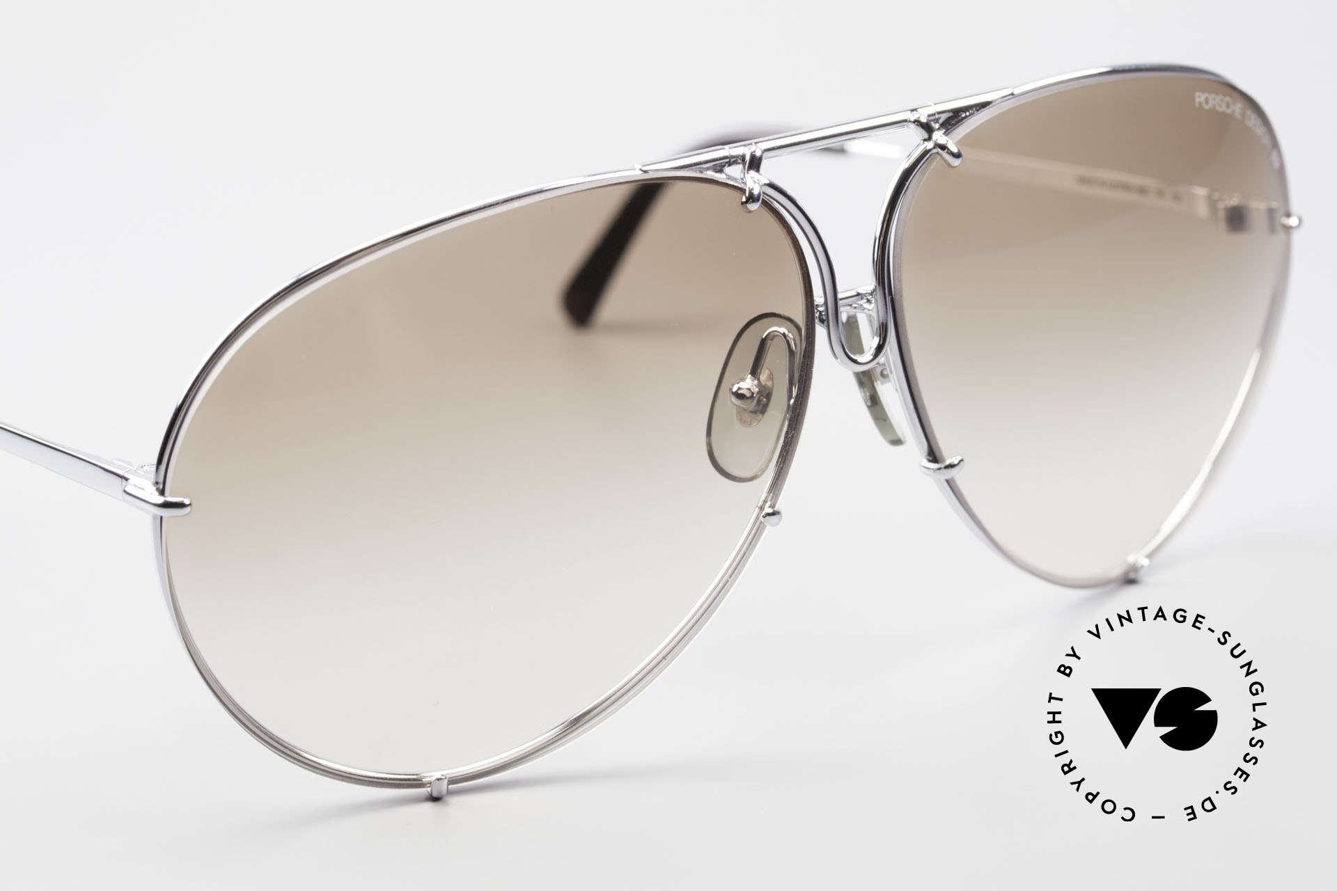 Porsche 5621 80's Sunglass Classic For Men, unworn, new old stock, incl. orig. PD box and case, Made for Men