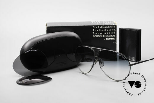 Porsche 5621 Rare 80's Aviator Sunglasses, mod. 5621 = 80's LARGE size (X-LARGE, these days), Made for Men