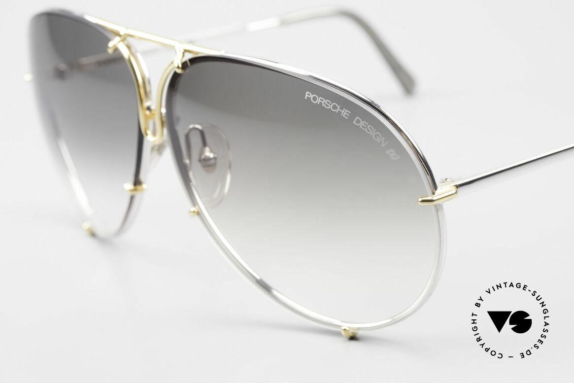 Porsche 5621 Old 80's Bicolor Sunglasses, legendary 80's bestseller sunglasses; vintage rarity!, Made for Men