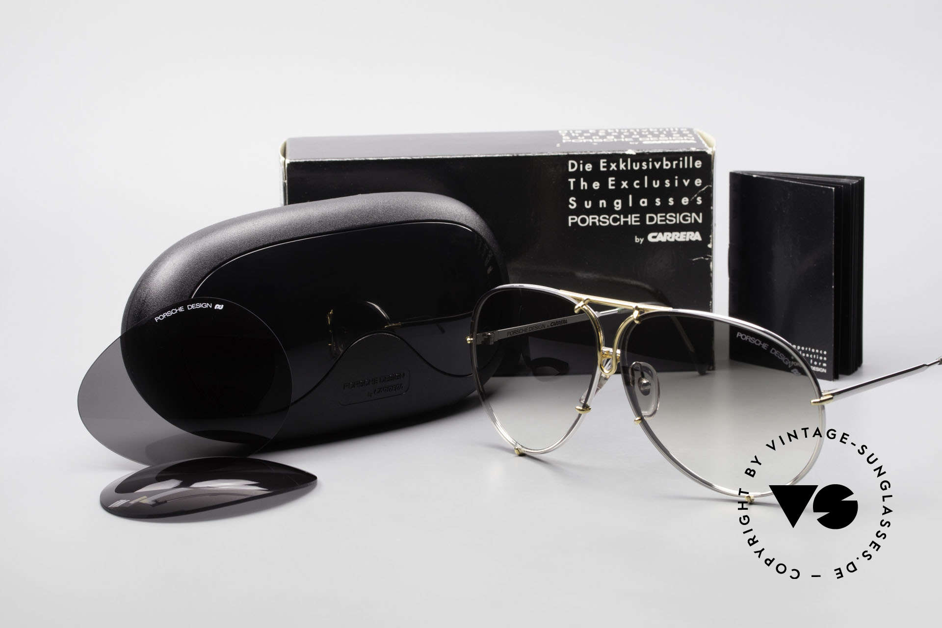 Porsche 5621 Old 80's Bicolor Sunglasses, mod. 5621 = 80's LARGE size (X-LARGE, these days), Made for Men