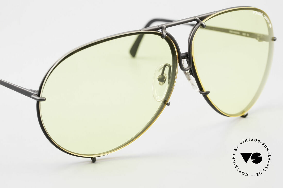 Porsche 5621 Yellow Lenses Kalichrome 80's, unworn, new old stock, incl. orig. PD box and case, Made for Men