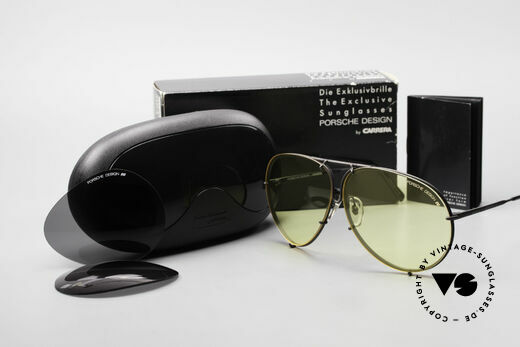 Porsche 5621 Yellow Lenses Kalichrome 80's, mod. 5621 = 80's LARGE size (X-LARGE, these days), Made for Men