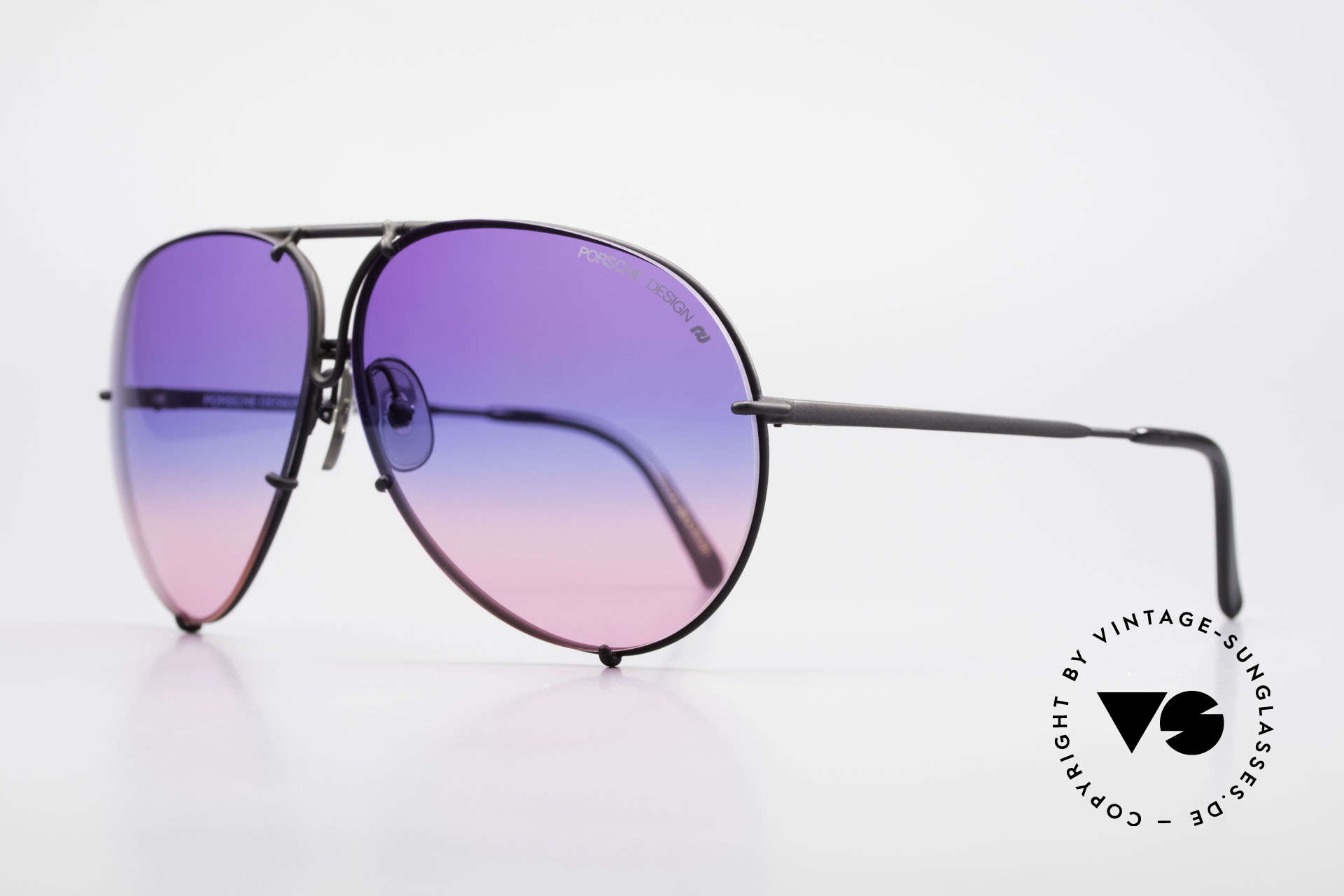 Porsche 5621 Tricolor Limited Edition 80's, LIMITED edition with tricolored gradient sun lenses, Made for Men