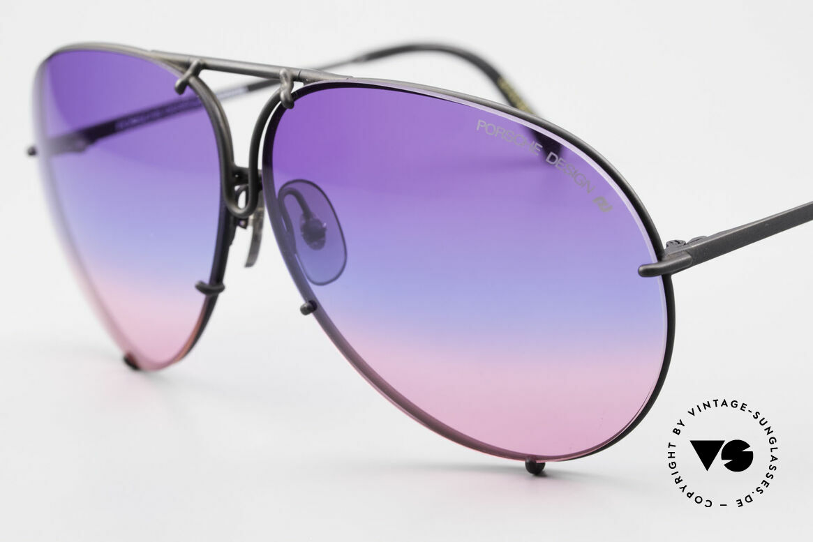Porsche 5621 Tricolor Limited Edition 80's, 80's bestseller sunglasses; rarity & collector's item, Made for Men