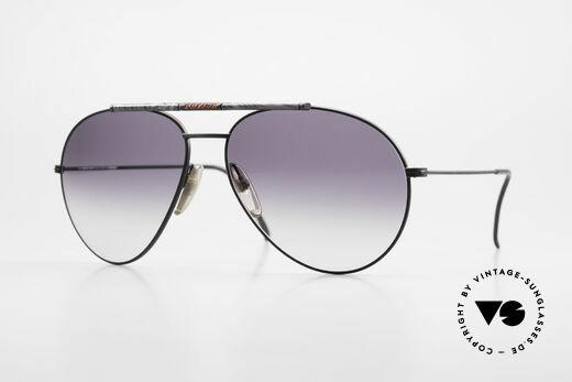 Boeing 5706 Rare 80s Aviator Sunglasses XL Details