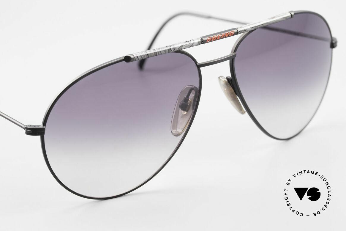 Boeing 5706 Rare 80s Aviator Sunglasses XL, designer- and collector's item (true vintage rarity), Made for Men