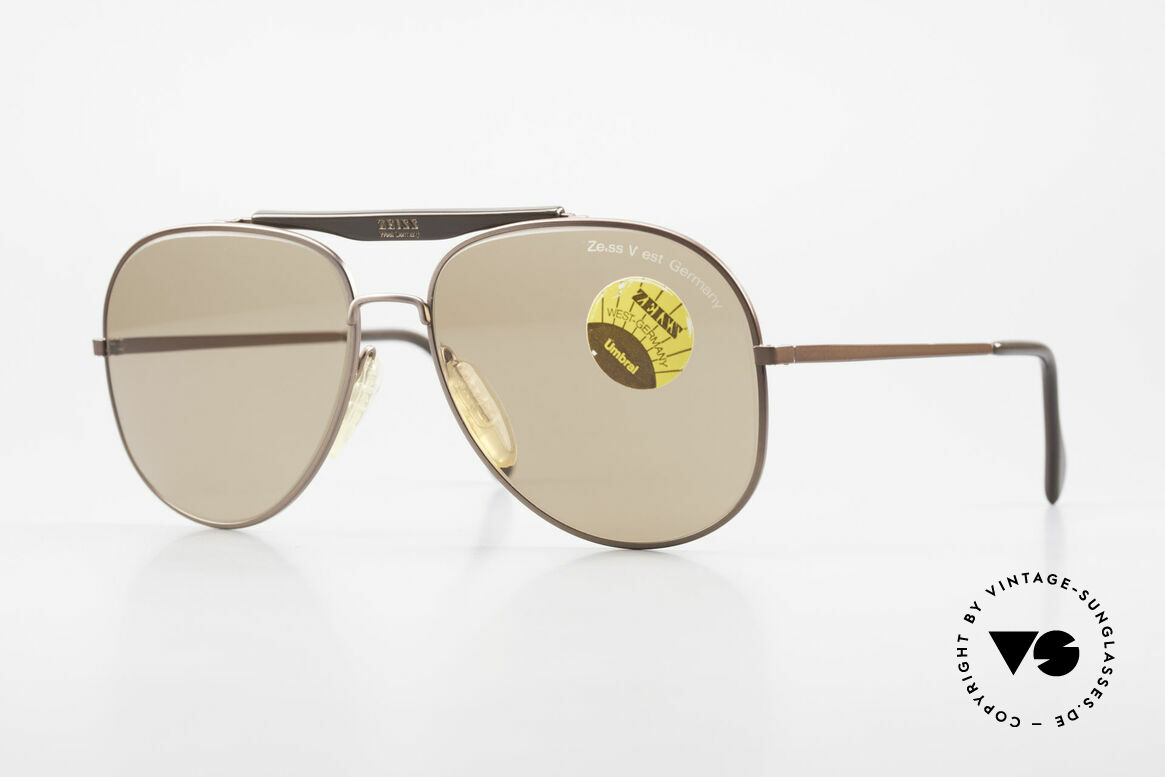 Zeiss 9337 Back to the Future Sunglasses, original vintage Zeiss sunglasses, mod. 9337 from 1983, Made for Men