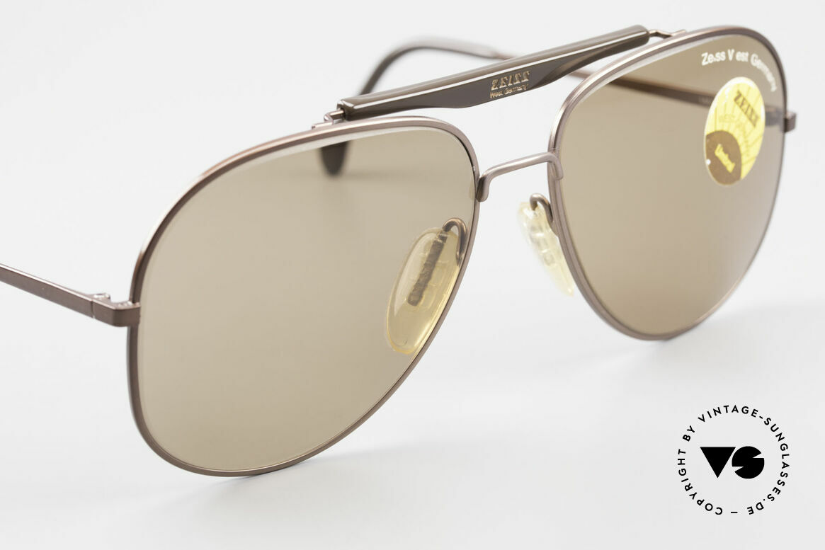 Zeiss 9337 Back to the Future Sunglasses, we can offer customized mirrored lenses upon request, Made for Men