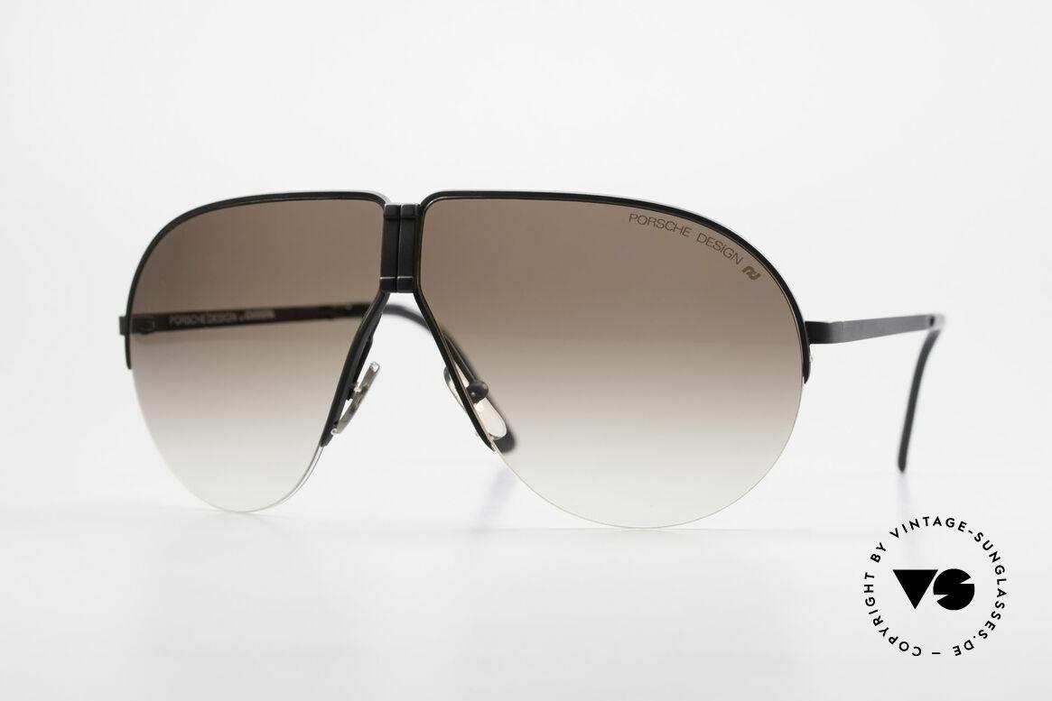 Porsche 5628 80's Folding Aviator Sunglasses, practical PORSCHE folding 1980's vintage sunglasses, Made for Men