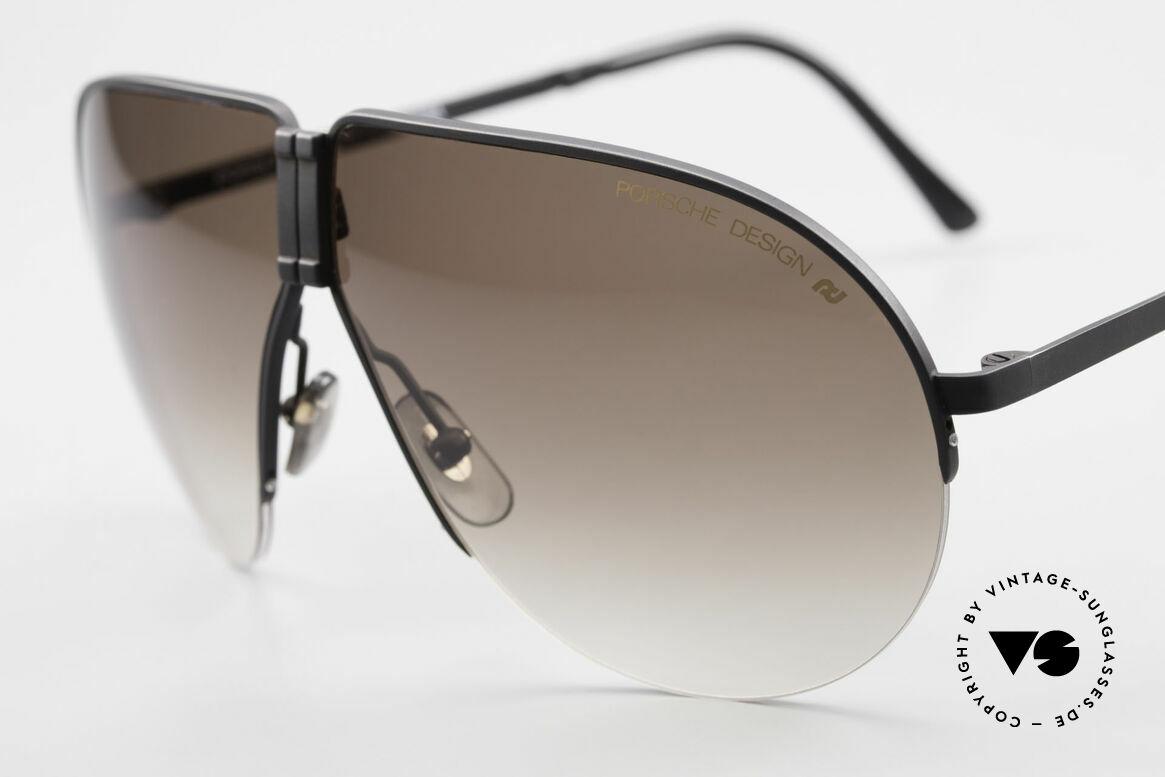 Porsche 5628 80's Folding Aviator Sunglasses, unworn (like all our vintage PORSCHE Carrera shades), Made for Men
