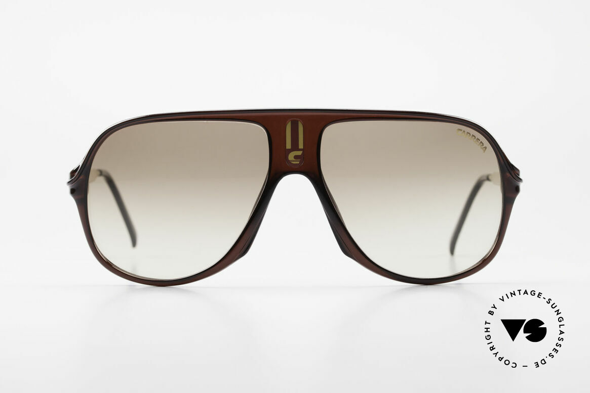 Carrera 5547 80's Vintage Shades No Retro, very sturdy frame by famous Optyl (1st class quality), Made for Men