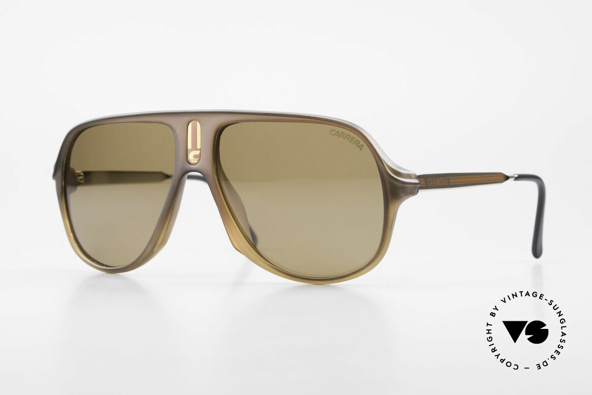 Carrera 5547 Polarized 80's Sunglasses, incredibly rare Carrera vintage sunglasses from 1986, Made for Men