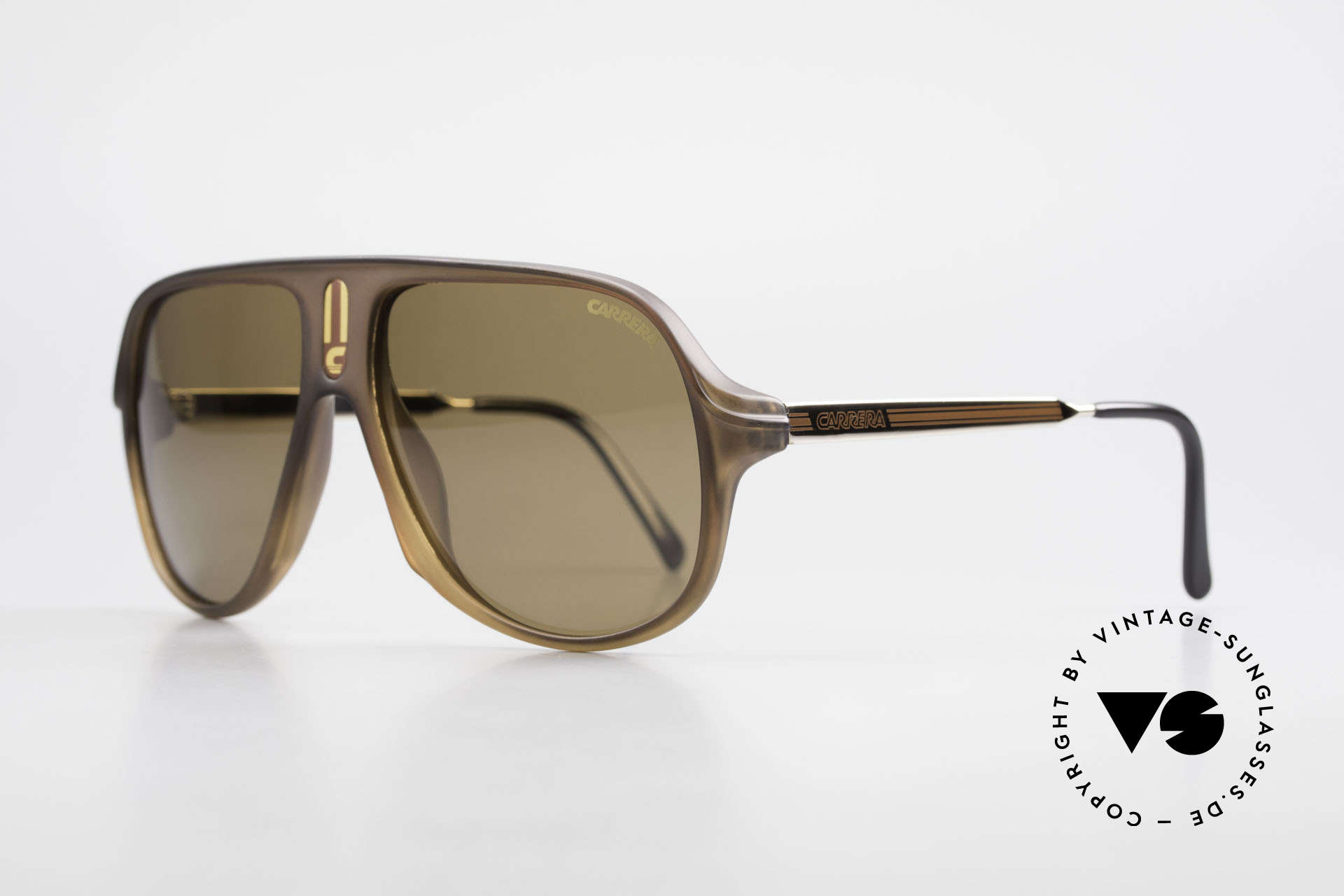 Carrera 5547 Polarized 80's Sunglasses, men's shades (145mm frame width), XL vintage shades, Made for Men