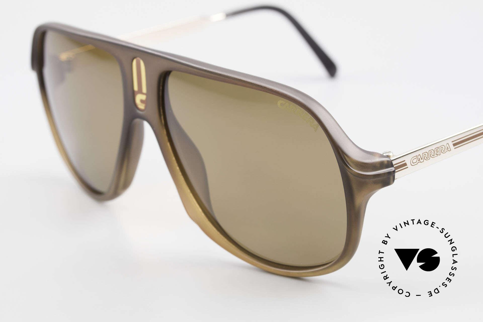 Carrera 5547 Polarized 80's Sunglasses, brown POLARIZED sun lenses for 100% UV protection, Made for Men