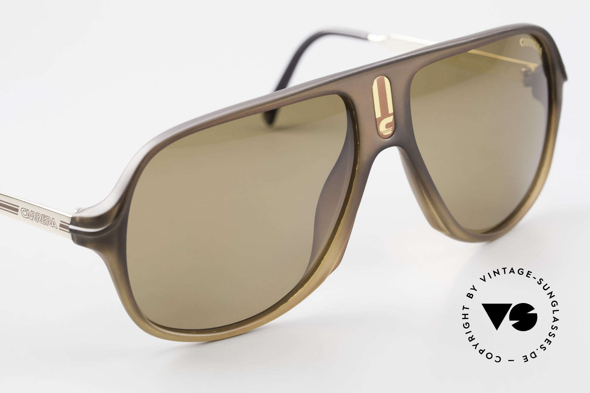Carrera 5547 Polarized 80's Sunglasses, NO RETRO sunglasses, but a rare 35 years old Original, Made for Men