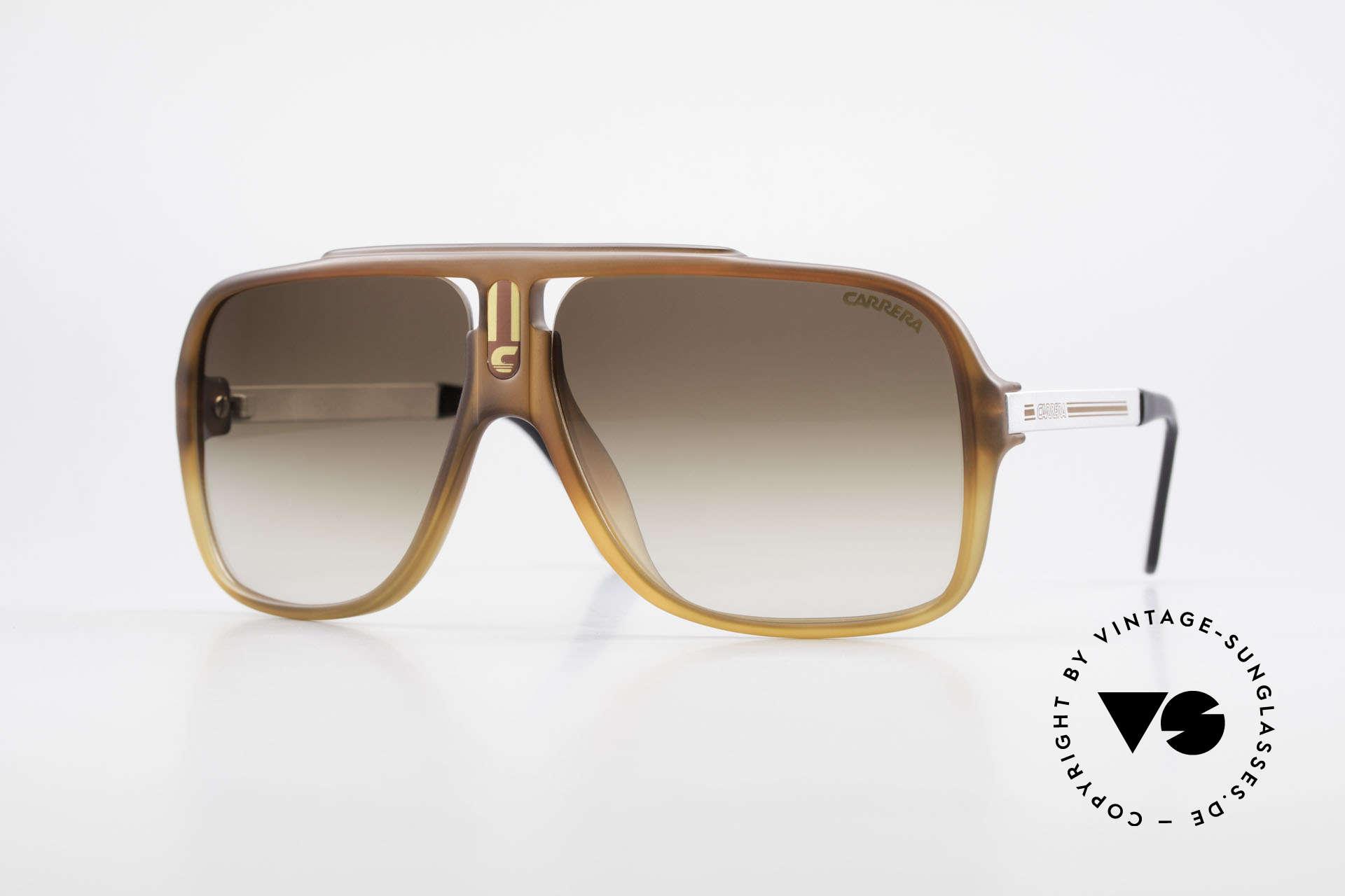 Carrera 5557 Rare Vintage Shades No Retro, incredibly rare Carrera vintage sunglasses from 1985, Made for Men