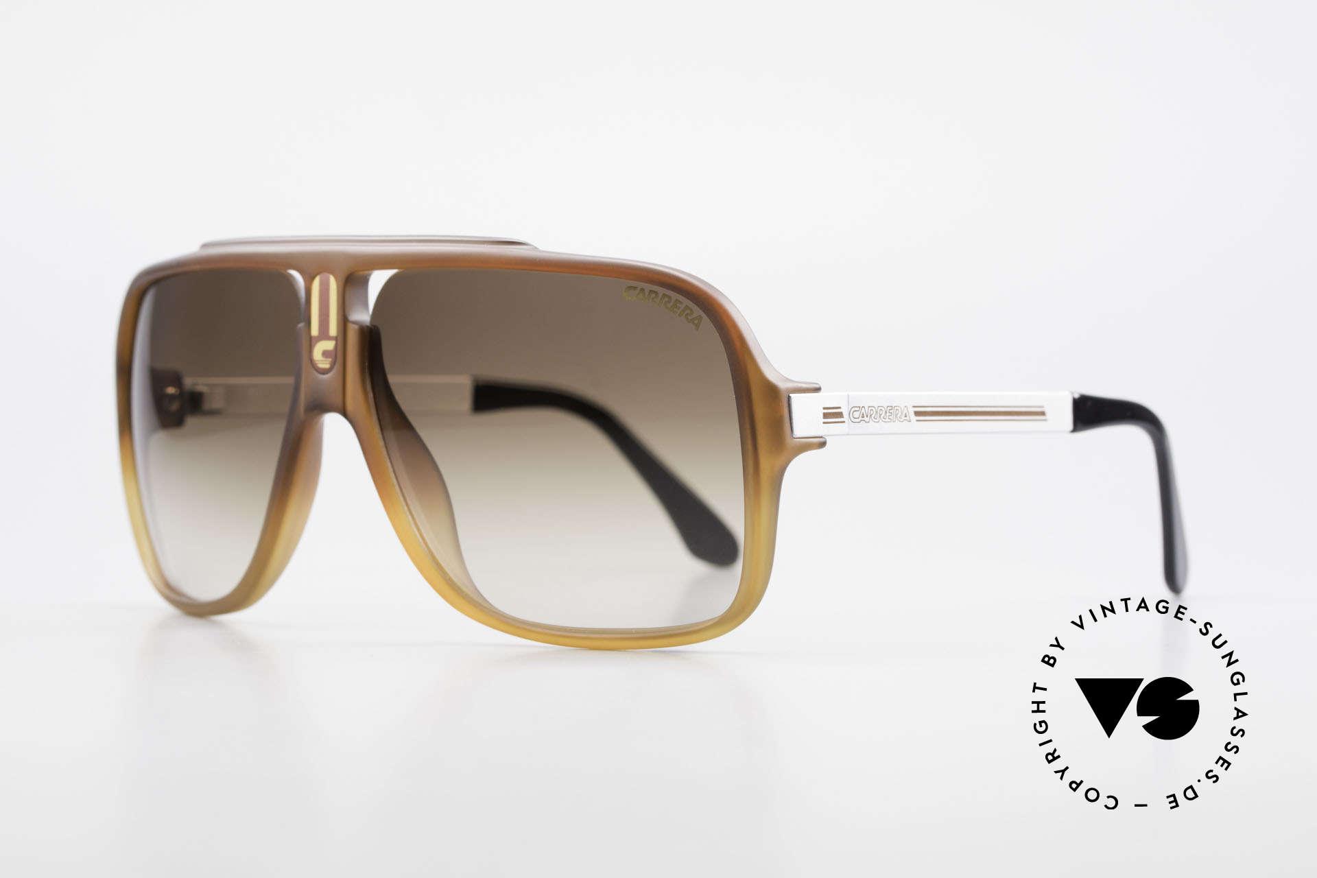 Carrera 5557 Rare Vintage Shades No Retro, men's shades with brown-gradient lenses (100% UV), Made for Men