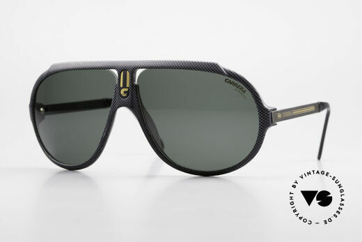 Carrera 5512 Iconic 80's Shades Miami Vice Details