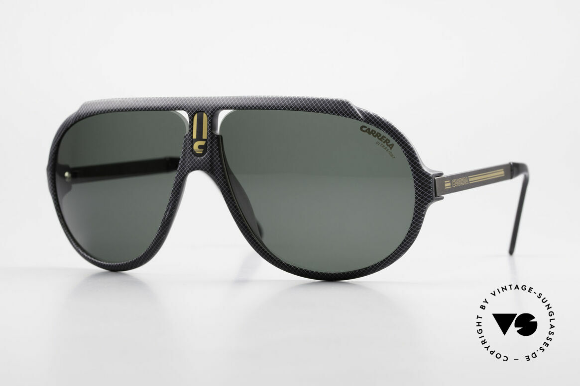 Carrera 5512 Iconic 80's Shades Miami Vice, legendary 1980's vintage CARRERA designer sunglasses, Made for Men