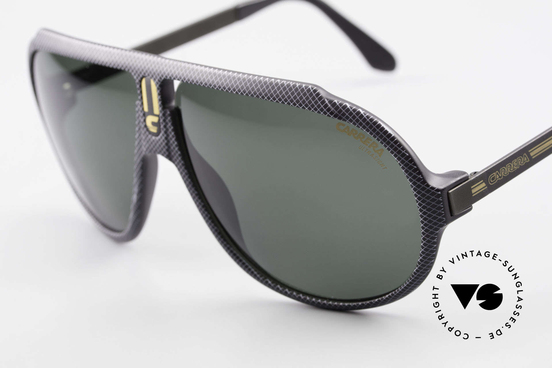 """Carrera 5512 Iconic 80's Shades Miami Vice, extraordinary frame pattern with """"lattice effect"""", unique, Made for Men"""