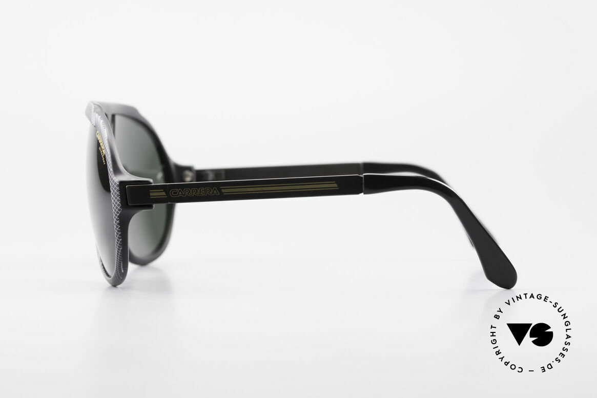 Carrera 5512 Iconic 80's Shades Miami Vice, unworn rarity with dark green Carrera Ultrasight lenses, Made for Men